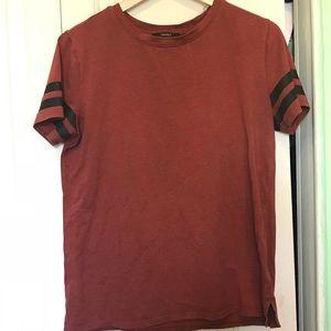 Forever 21 Burgundy Shirt